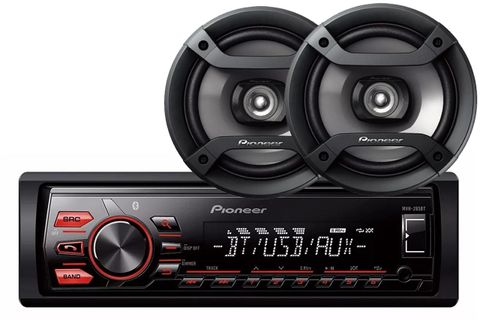 Combo-Pioneer-Mxt-286bt-Estereo-Bluetooth---2-Parlantes-200w