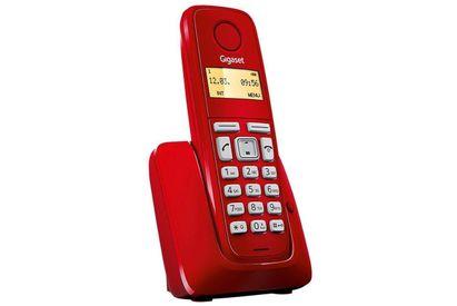 Telefono-Inalambrico-Gigaset-A120-ROJO