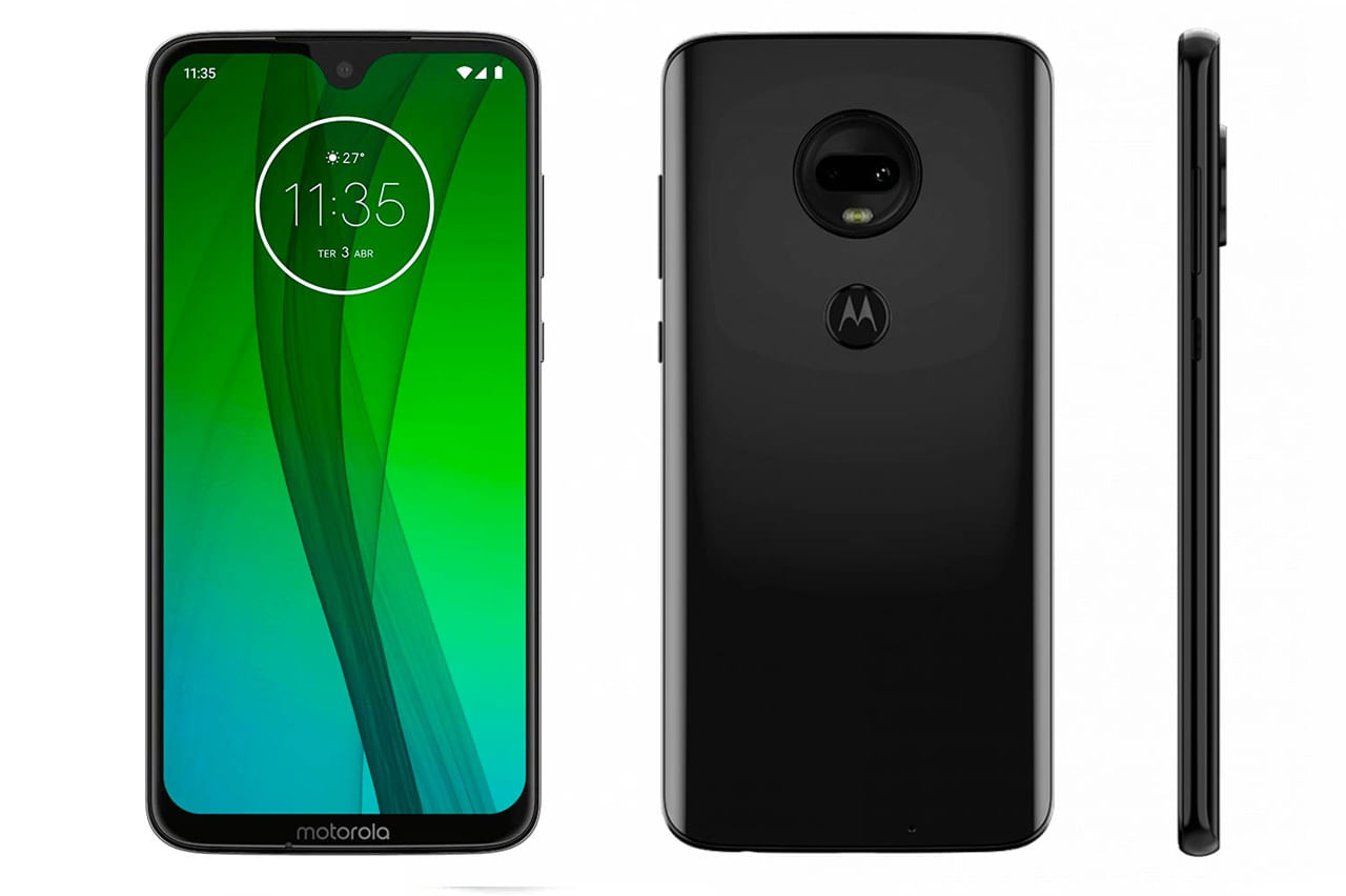 7b1c77b9534 Motorola Moto G7 4gb/64gb/6.2/12+5mp/8mp Os9.0 libre - BLACK ...