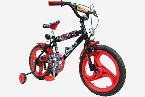 BICICLETA-ART.-164010-161300-ROD.-16-SPIDERMAN-UNIBIKE-SA